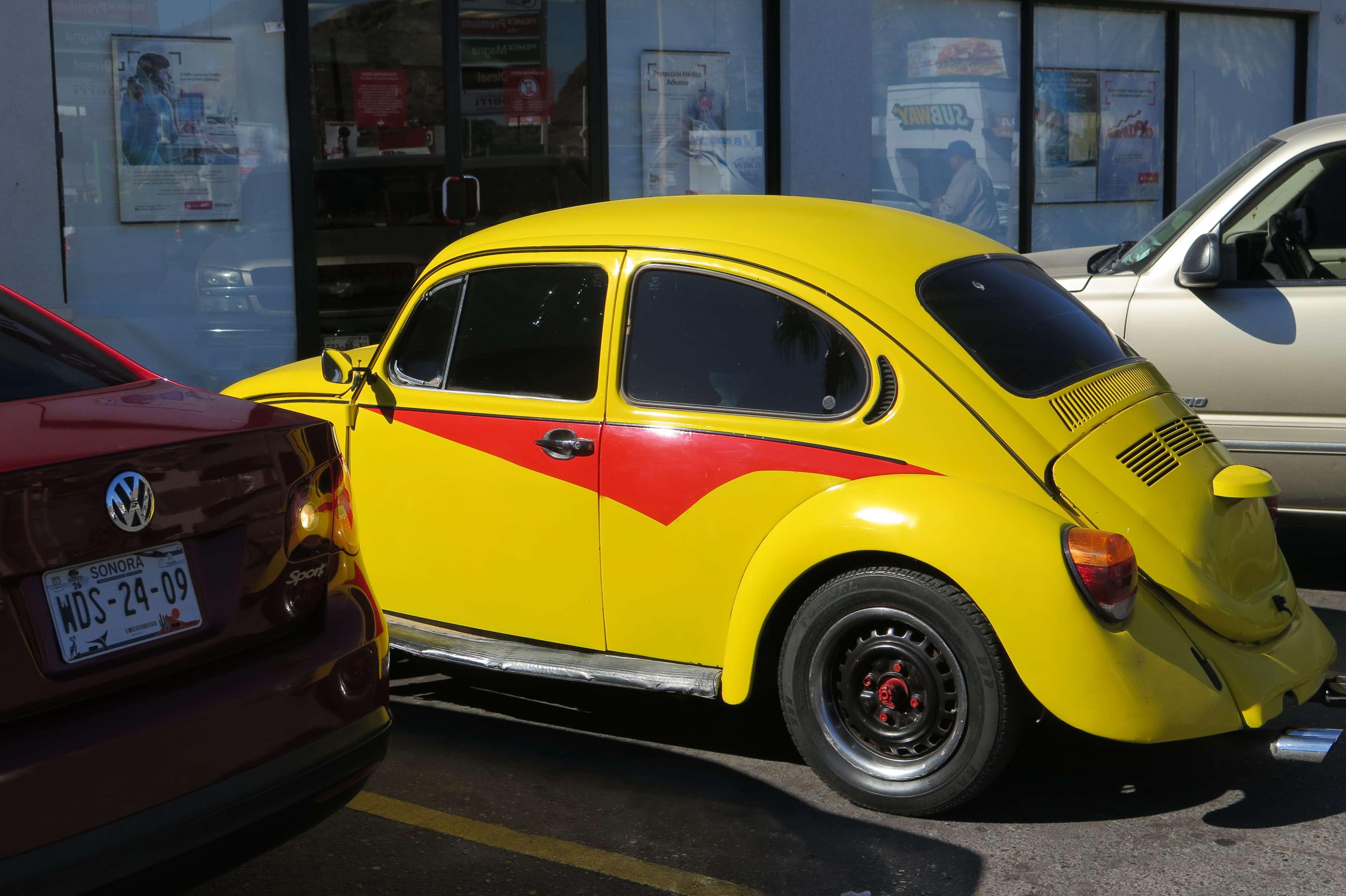 Volkswagen Beetles in Mexico