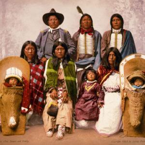 Utes chief Severo and family, 1899