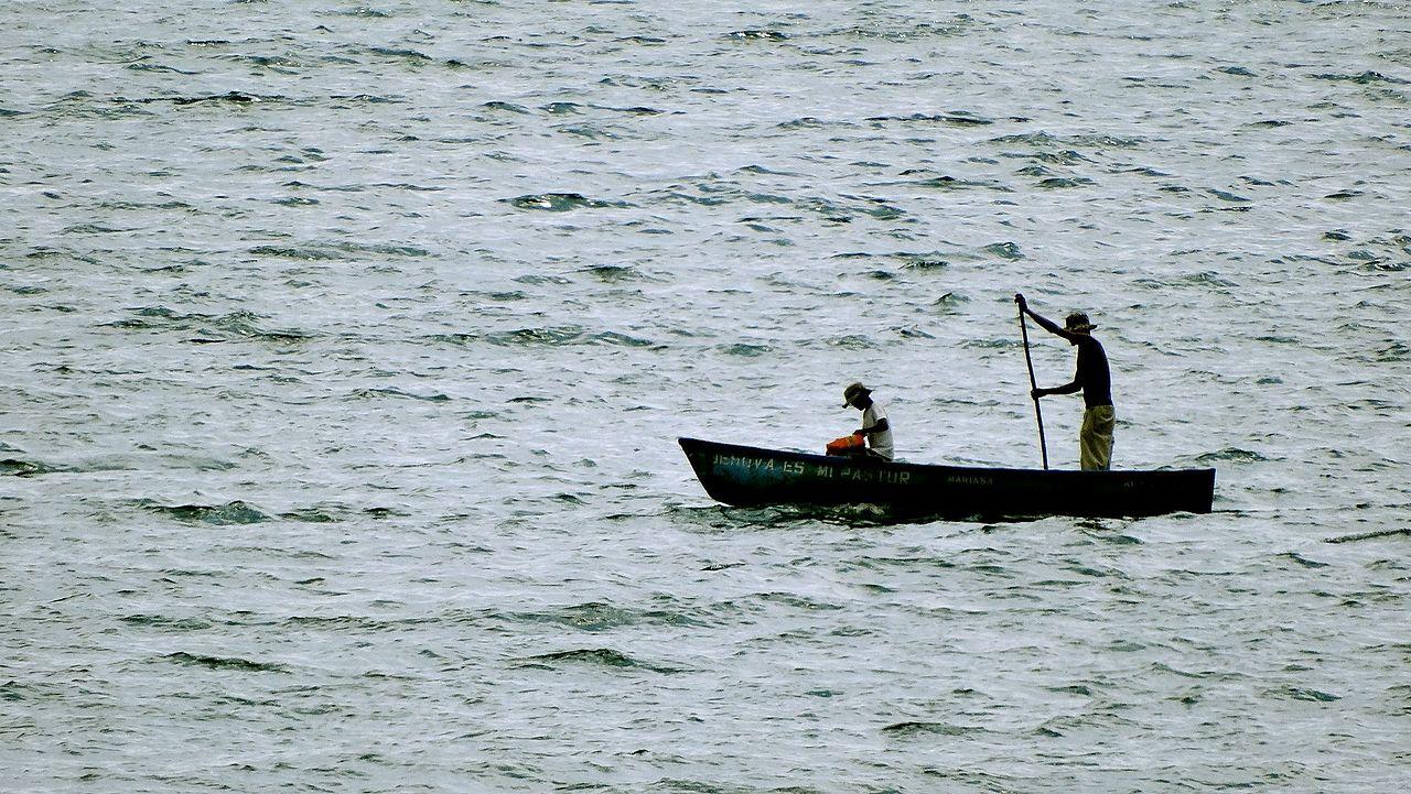 El Salvador fishermen