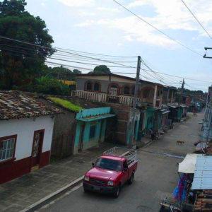 Puente Arce, pueblo en la frontera de El Salvador con Guatemala