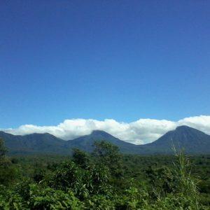 Mountain Range in Salcoatitlan, El Salvador