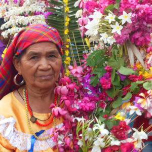 Indigenous Salvadoran woman from Panchimalco