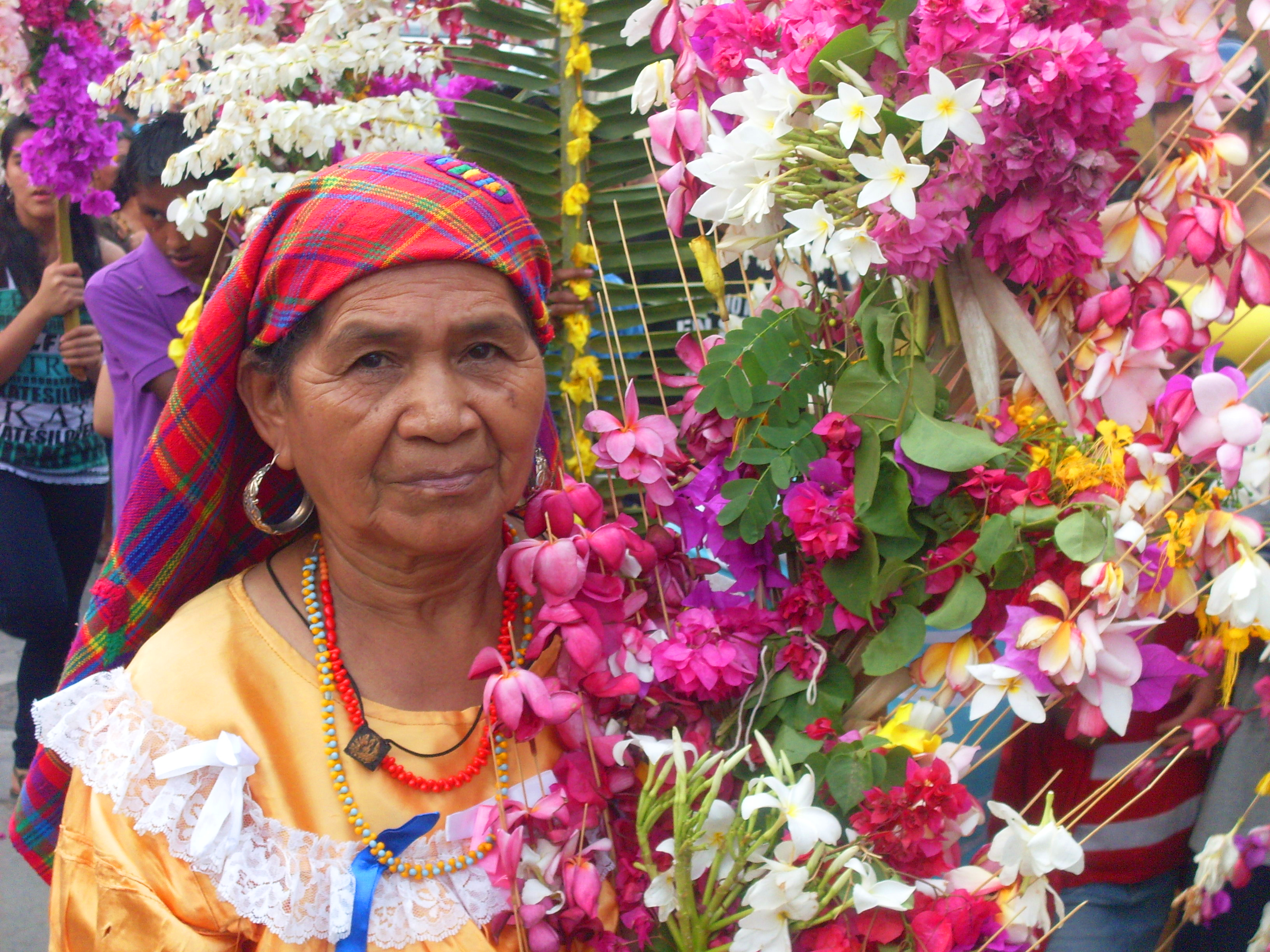 Indigenous Salvadoran woman from Panchimalco